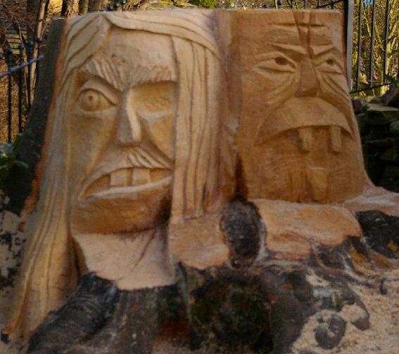 John Adamson - Wood Sculptor: Baildon Gargoyles01