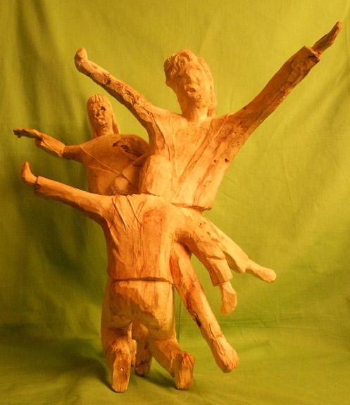 John Adamson - Wood Sculptor: Break Dancing02