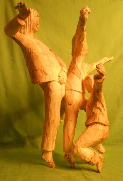 John Adamson - Wood Sculptor: Break Dancing03