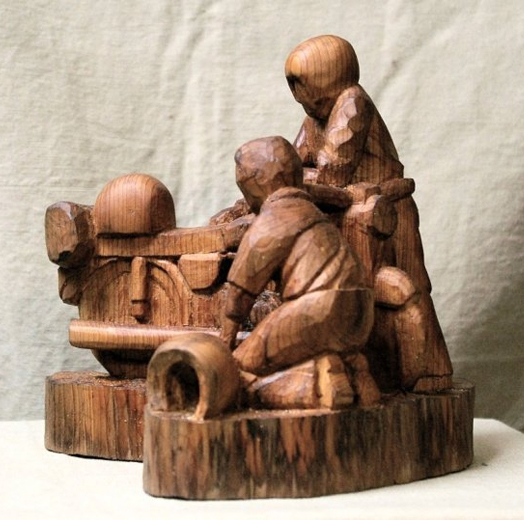 John Anderson - Wood Sculptor: Groups