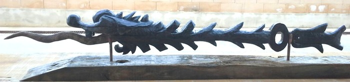 John Adamson - Wood Sculptor: Fyfe Dragon02