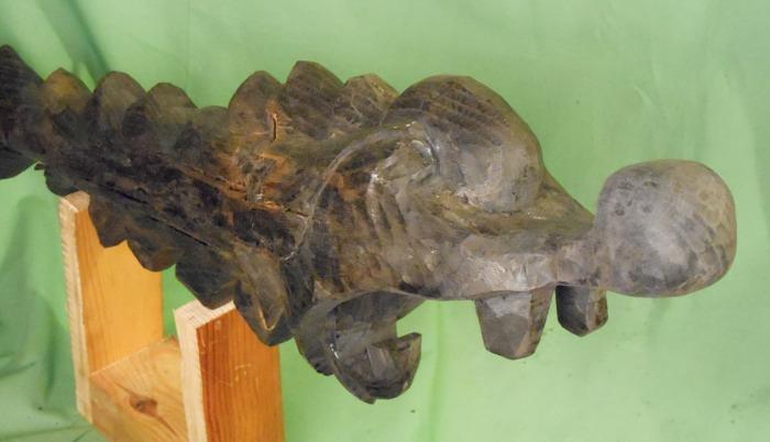 John Adamson - Wood Sculptor: Fyfe Dragon04