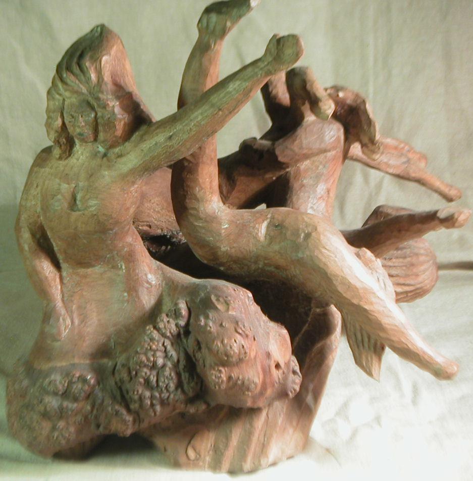John Adamson - Wood Sculptor: Dancers04