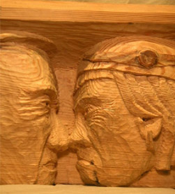 John Anderson - Wood Sculptor: Heads & Figures