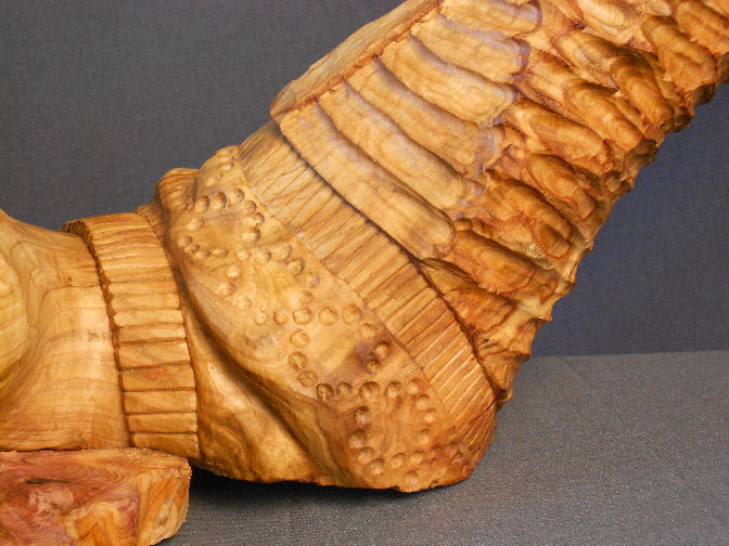 John Adamson - Wood Sculptor: Drowning03