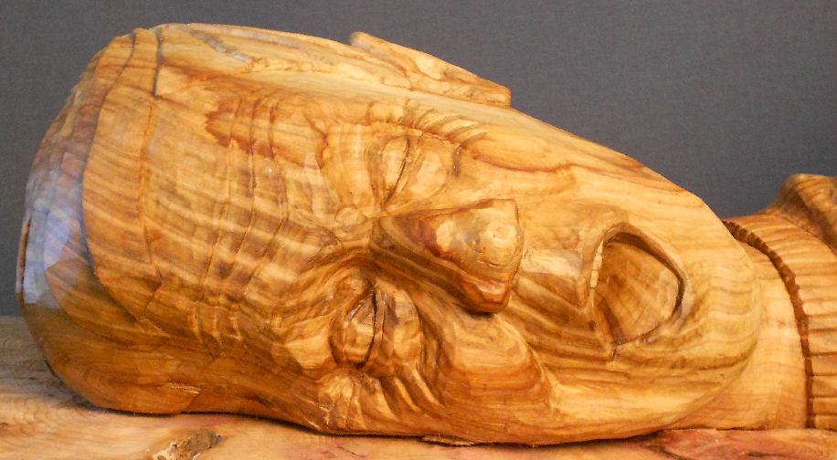 John Adamson - Wood Sculptor: Drowning02