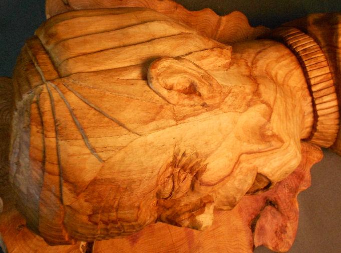 John Adamson - Wood Sculptor: Drowning04