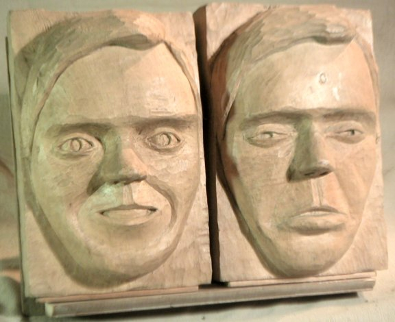 John Adamson - Wood Sculptor: Faces02