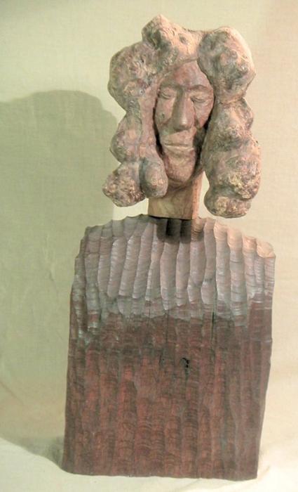 John Adamson - Wood Sculptor: Family Mother