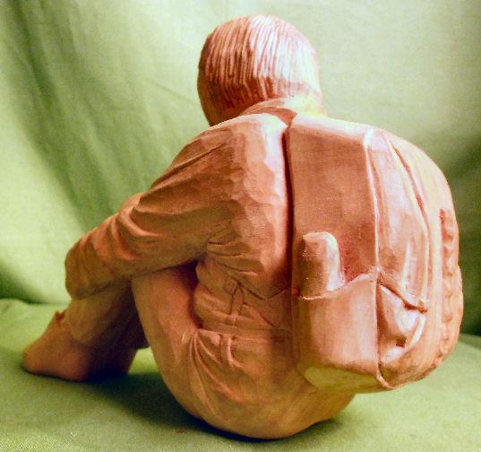 John Adamson - Wood Sculptor: A Walker01