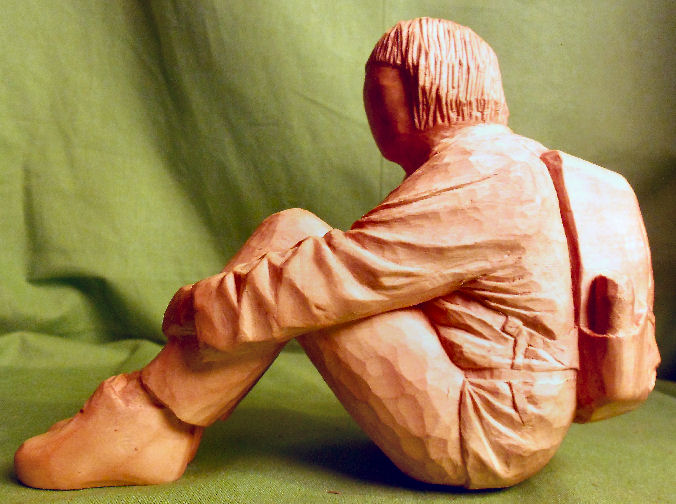 John Adamson - Wood Sculptor: A Walker02