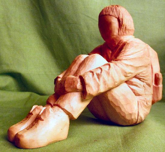 John Adamson - Wood Sculptor: A Walker03