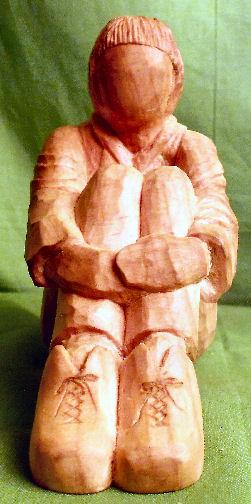 John Adamson - Wood Sculptor: A Walker04