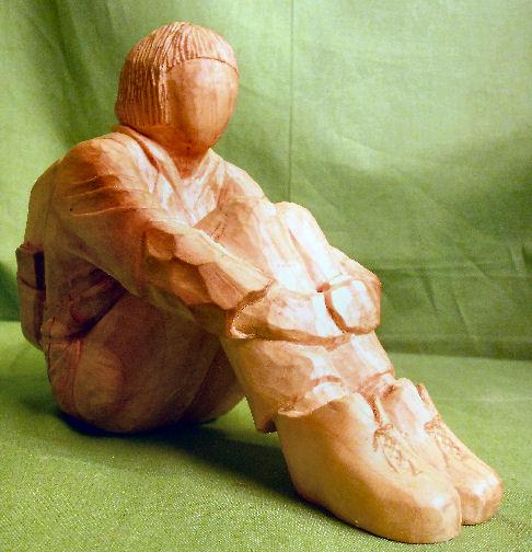 John Adamson - Wood Sculptor: A Walker05