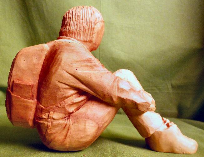 John Adamson - Wood Sculptor: A Walker06