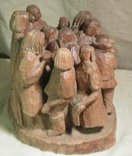 John Adamson - Wood Sculptor: Medieval Dance02