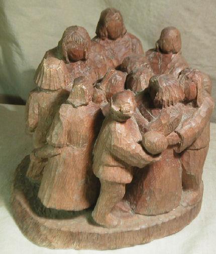 John Adamson - Wood Sculptor: Medieval Dance03
