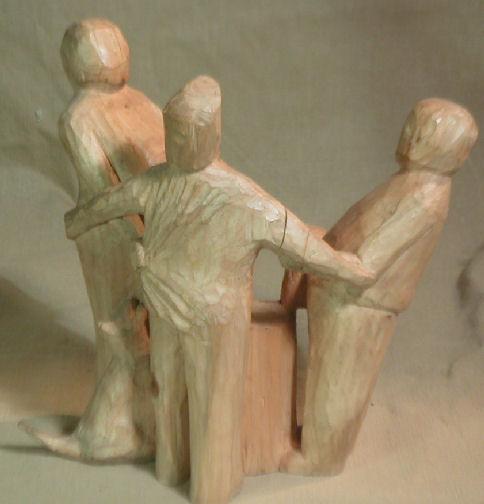 John Adamson - Wood Sculptor: Nelly Dean01