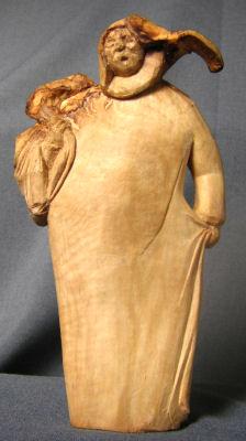 John Adamson - Wood Sculptor: Olive Picker01