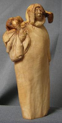 John Adamson - Wood Sculptor: Olive Picker02