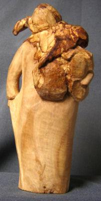 John Adamson - Wood Sculptor: Olive Picker03