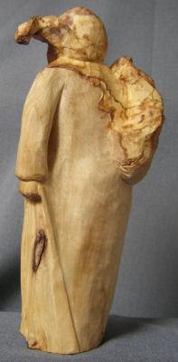 John Adamson - Wood Sculptor: Olive Picker04