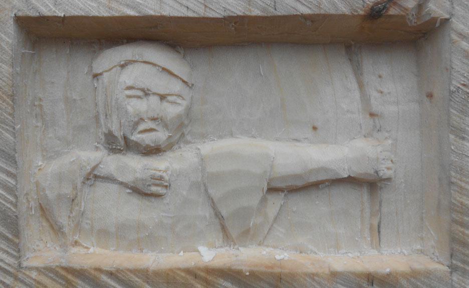John Adamson - Wood Sculptor: Robin Hood03