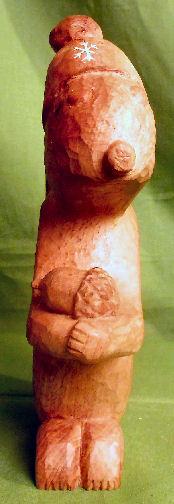 John Adamson - Wood Sculptor: squirrel03