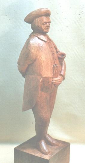 John Adamson - Wood Sculptor: Town Cryer01