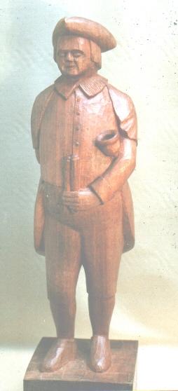 John Adamson - Wood Sculptor: Town Cryer02