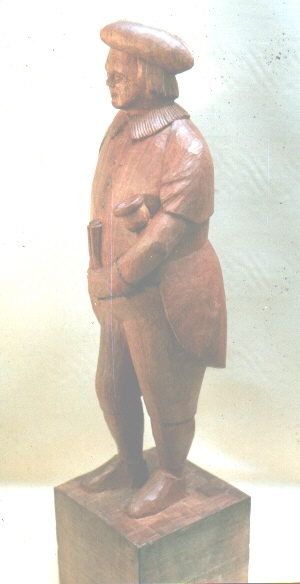 John Adamson - Wood Sculptor: Town Cryer03
