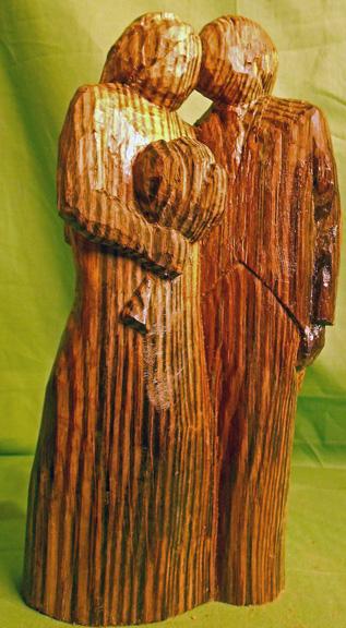 John Adamson - Wood Sculptor: Wedding01