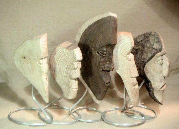 John Adamson - Wood Sculptor: The Wedgies