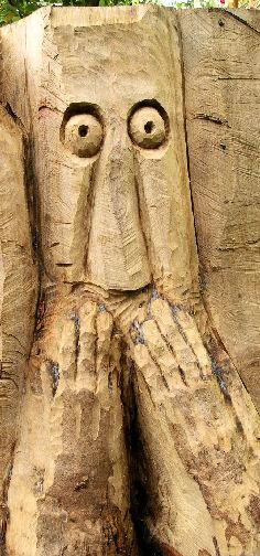 John Adamson - Wood Sculptor: Baildon Wise Men04