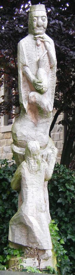 John Adamson Wood Sculptor - Press-photo