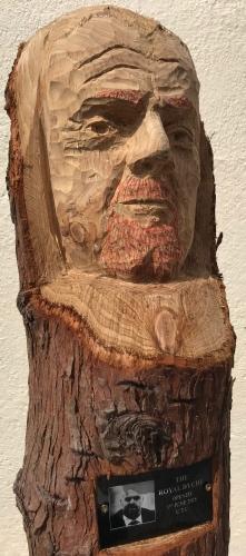 Portrait carving - SEAN DYCHE
