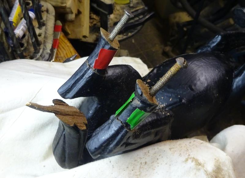 Carved Horse repair